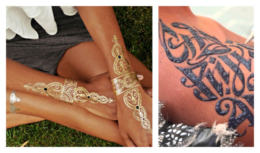 The top temporary tattoo brands