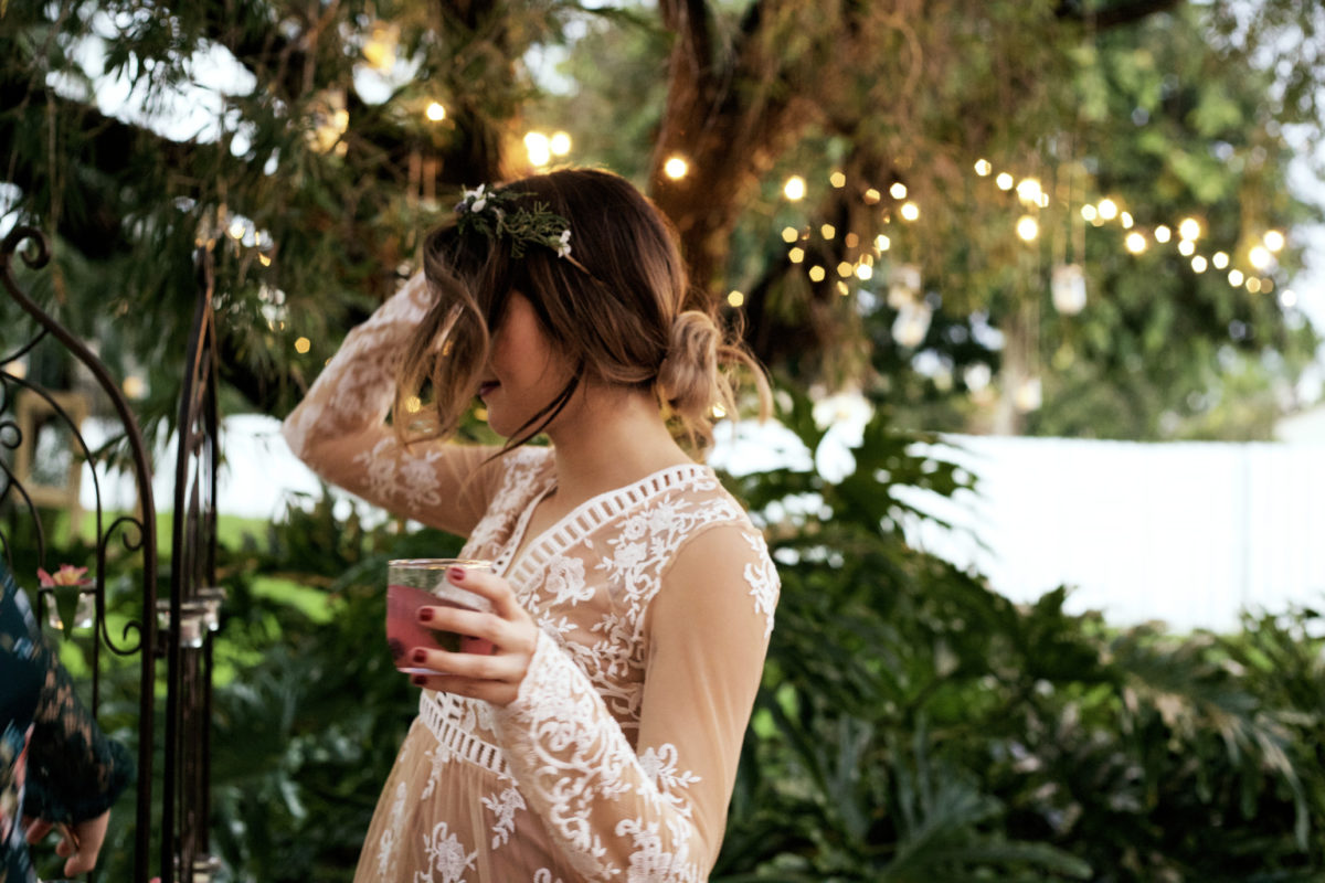 How to host outdoor party