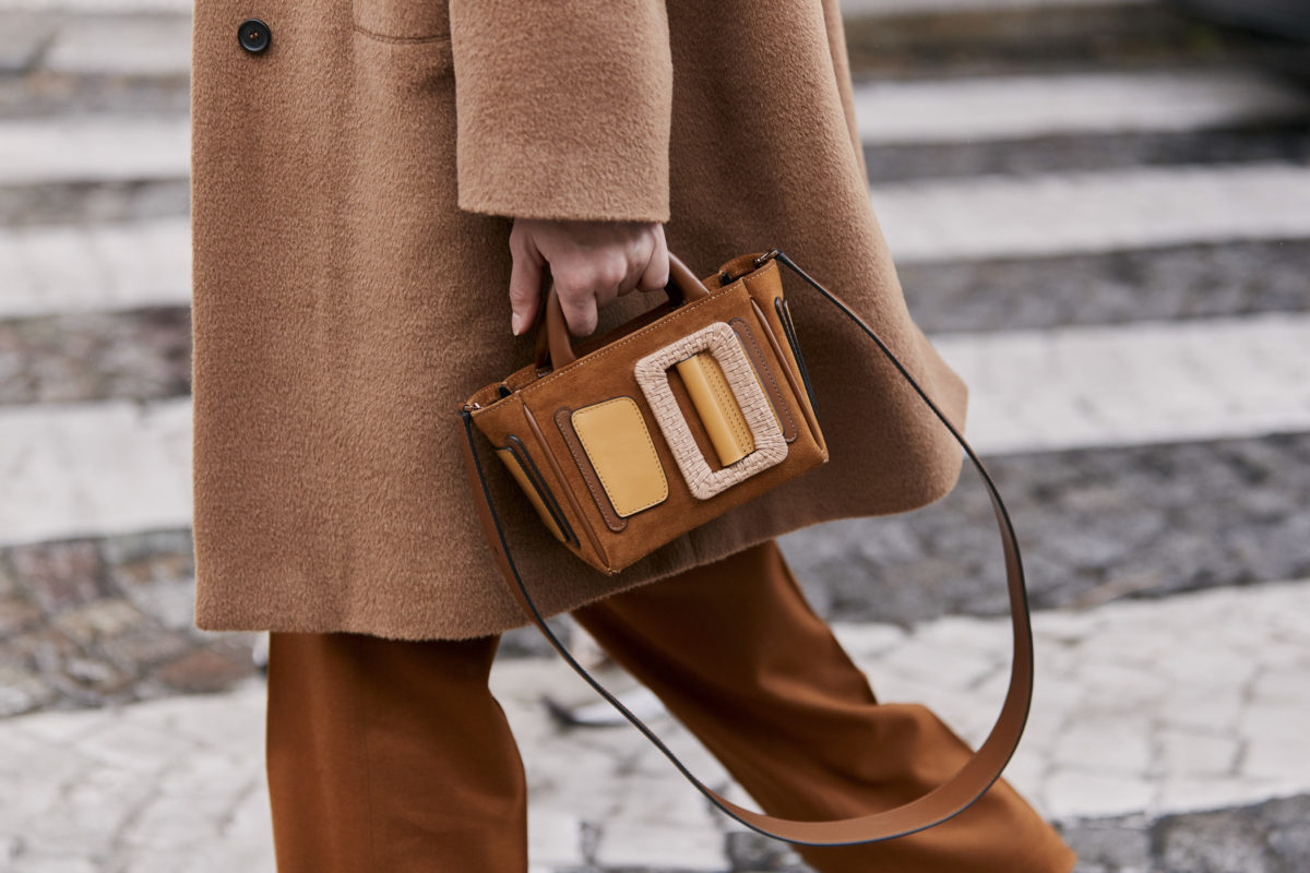 stunning new luxury handbags in the color of autumn leaves