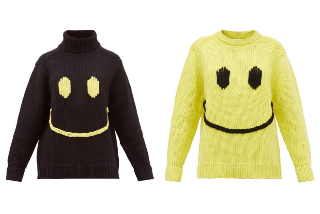 designer fashion smiley face