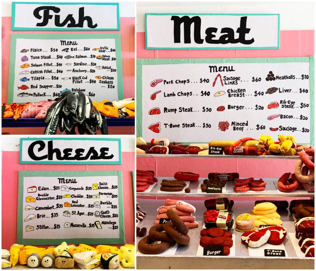 felt food Lucy's delicatessen