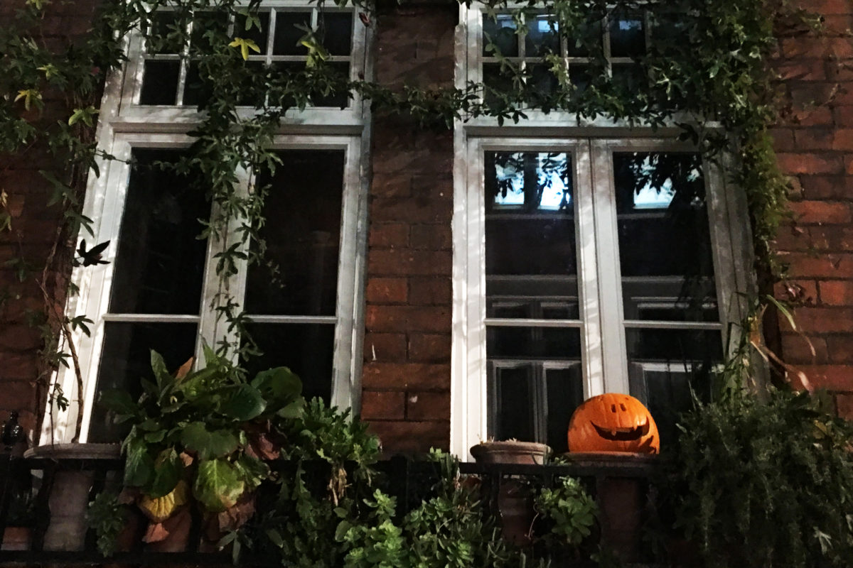 Luxury Halloween in London