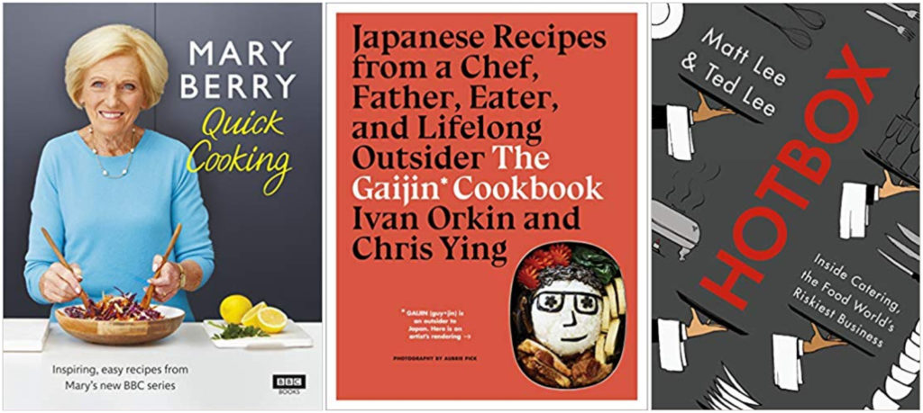 The best cookbooks drink books and chef memoirs of 2019.