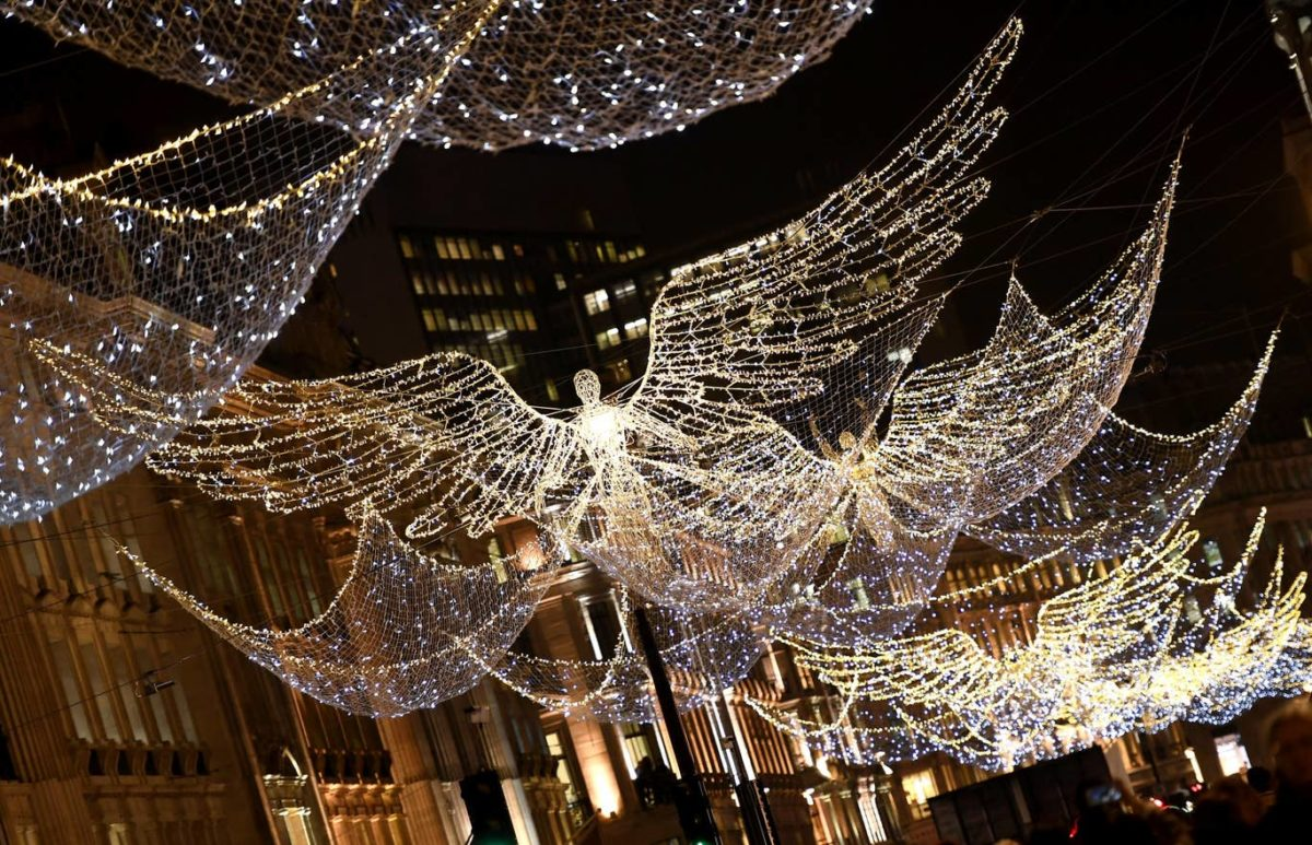 best Christmas decorations in London this year 2019