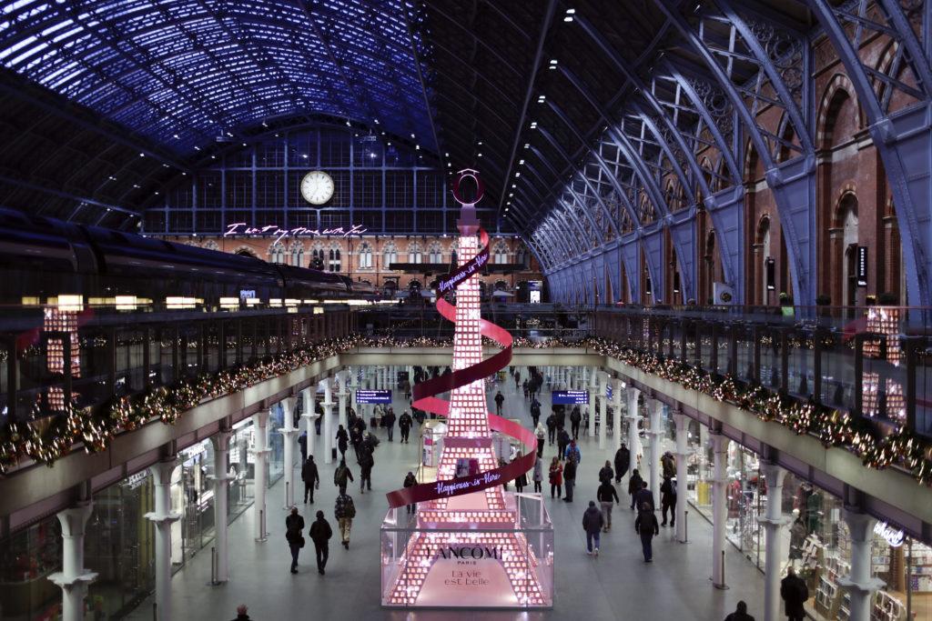 Christmas displays London 2019