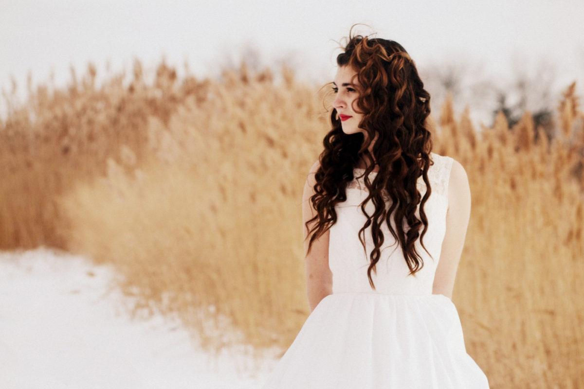 The best white dresses for winter adventures