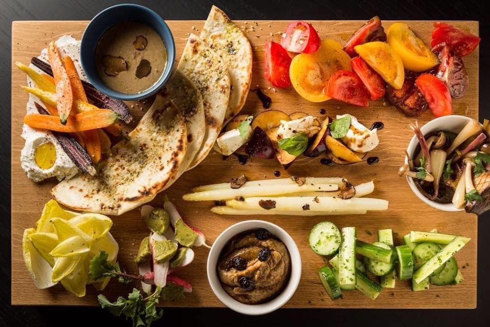 The best fine dining vegetarian restaurants for work-related meals