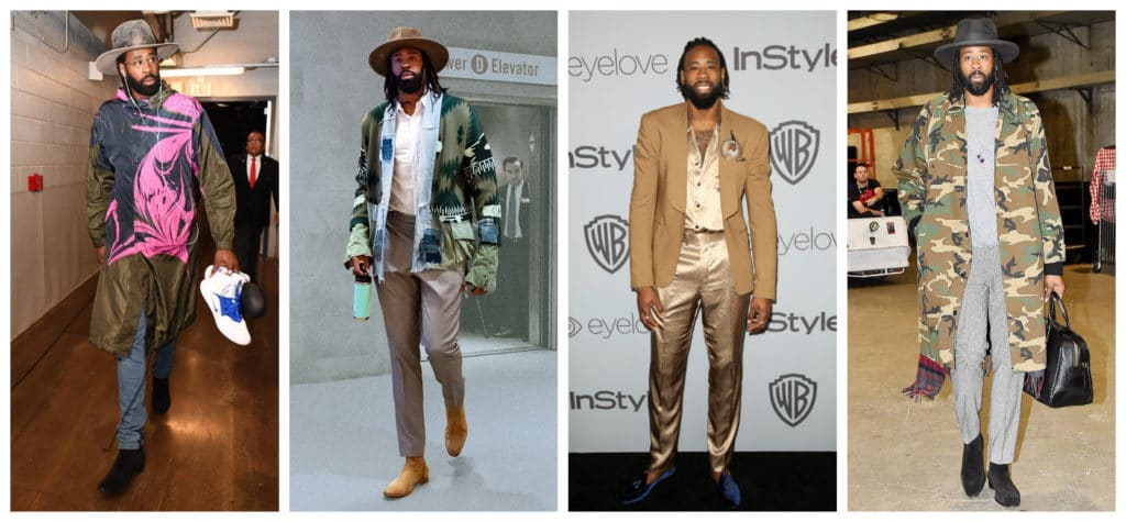 The NBA basketball players who are top style influencers