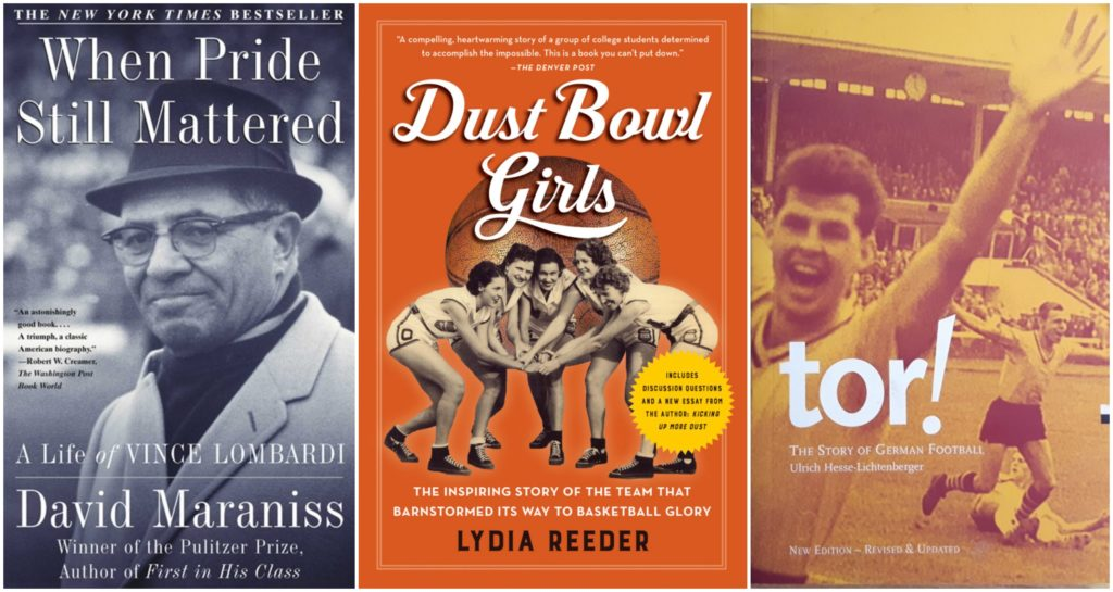 best books about sports, athlete memiors and biographies