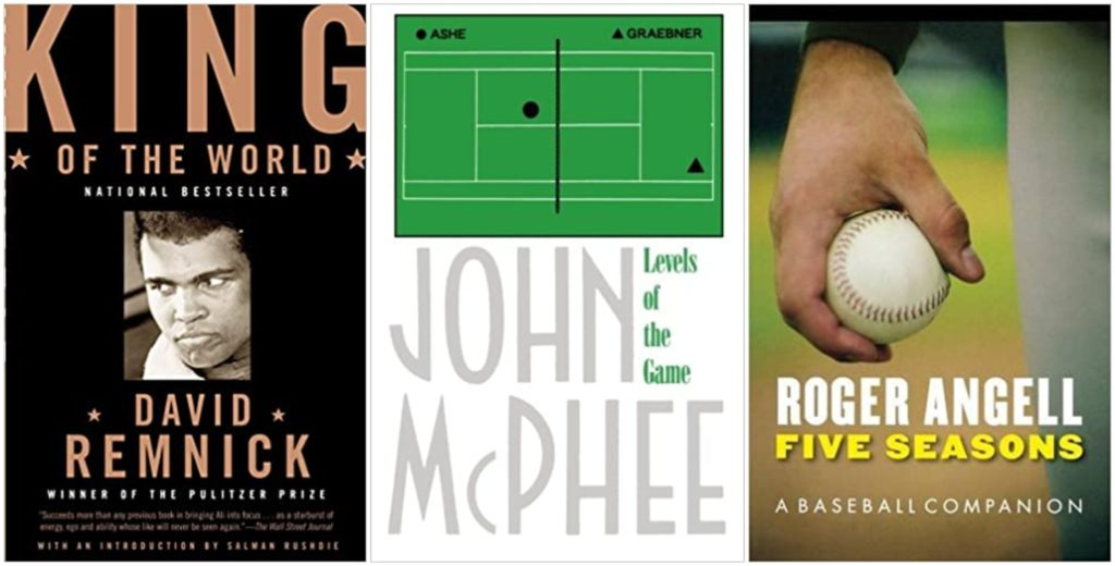 What to read while waiting for sports to start up again: some of the best books about sports, plus athlete biographies and memoirs.