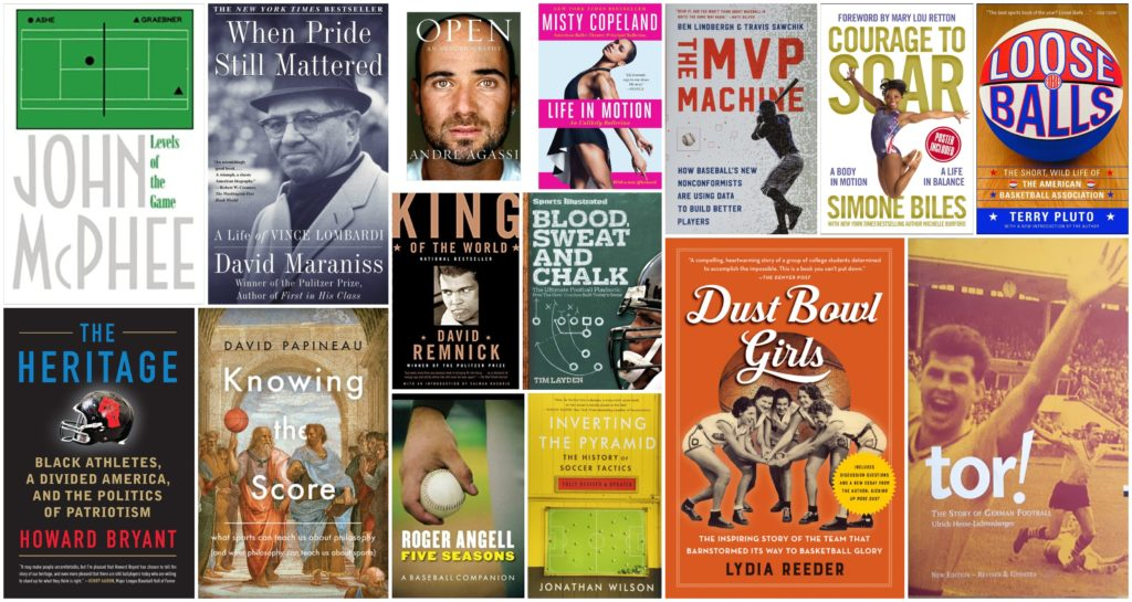 During coronavirus when there are no sports, the best books about sports and athletes to read right now