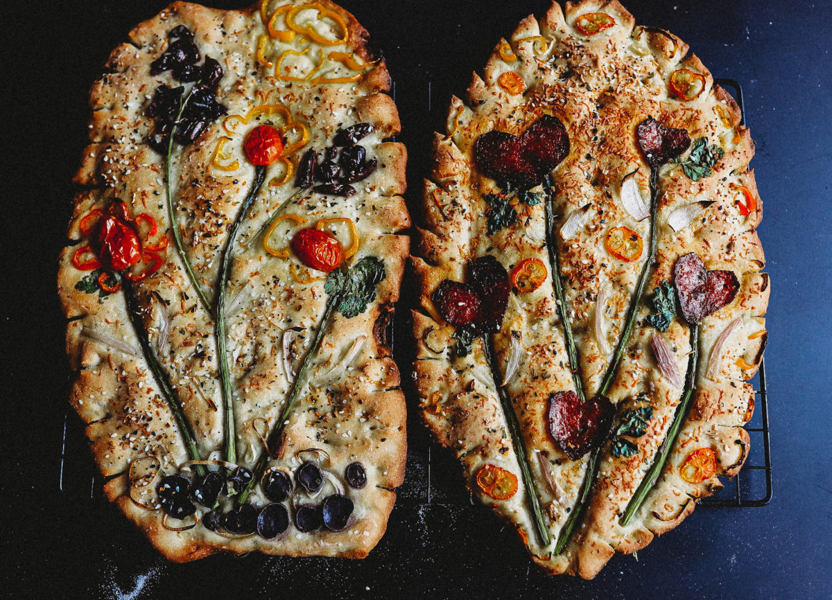 how to bake one of the stunning new focaccia gardens