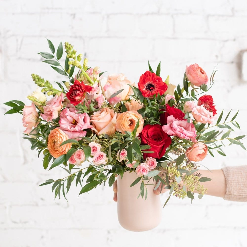 Learn how to create a floral arrangement at home
