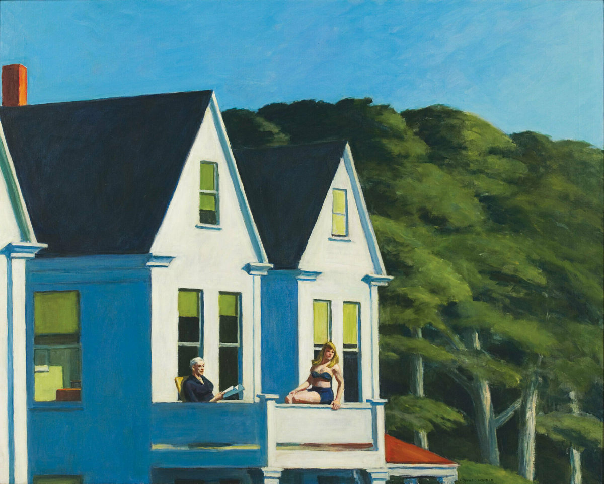 beautiful influential famous paintings about summer