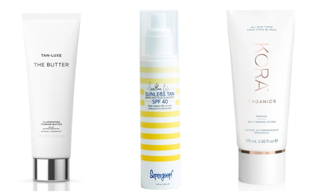 the best luxury self-tanners to use at home