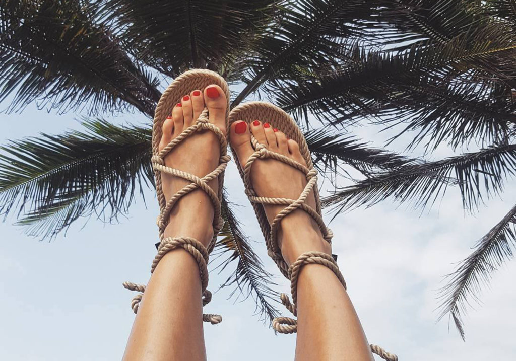 What are the best luxury designer rope sandals to buy right now?