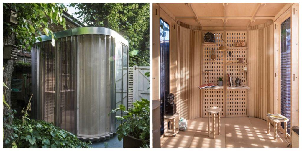 outdoor work pods