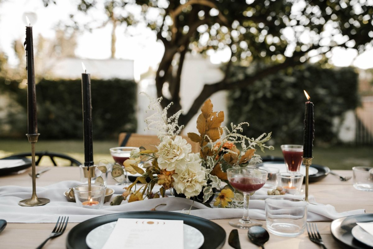 Expert luxury floral artist tips on how to decorate with flowers this Thanksgiving.