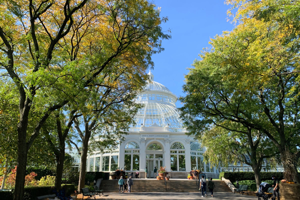 Astonishing Fall Adventures at the New York Botanical Garden. © Dandelion Chandelier.