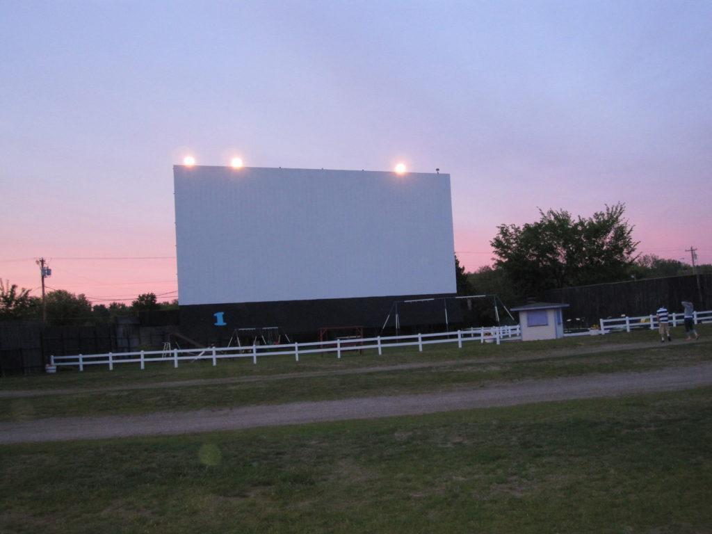 outdoor movie event