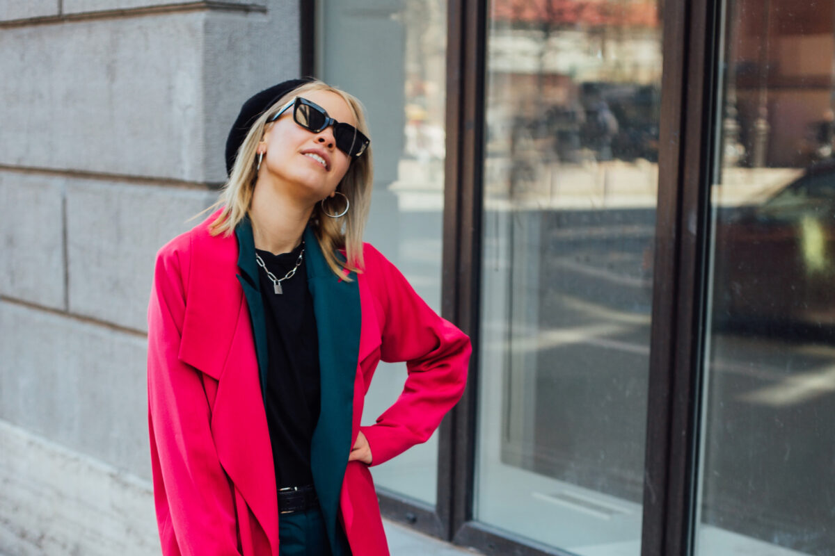 best vibrant color fashion looks on trend for spring summer 2021, including apparel, shoes, handbags, sunglasses and more