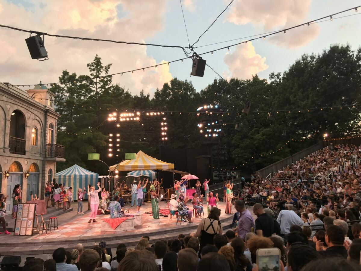 top summer theater, performing arts and Shakespeare festivals in 2021 best for vacation, including dramas, musicals and more.