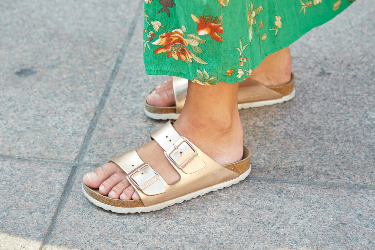 best new luxury designer fashion sandals to love for spring summer 2021 inspired by the still on-trend Birkenstock hiking shoe