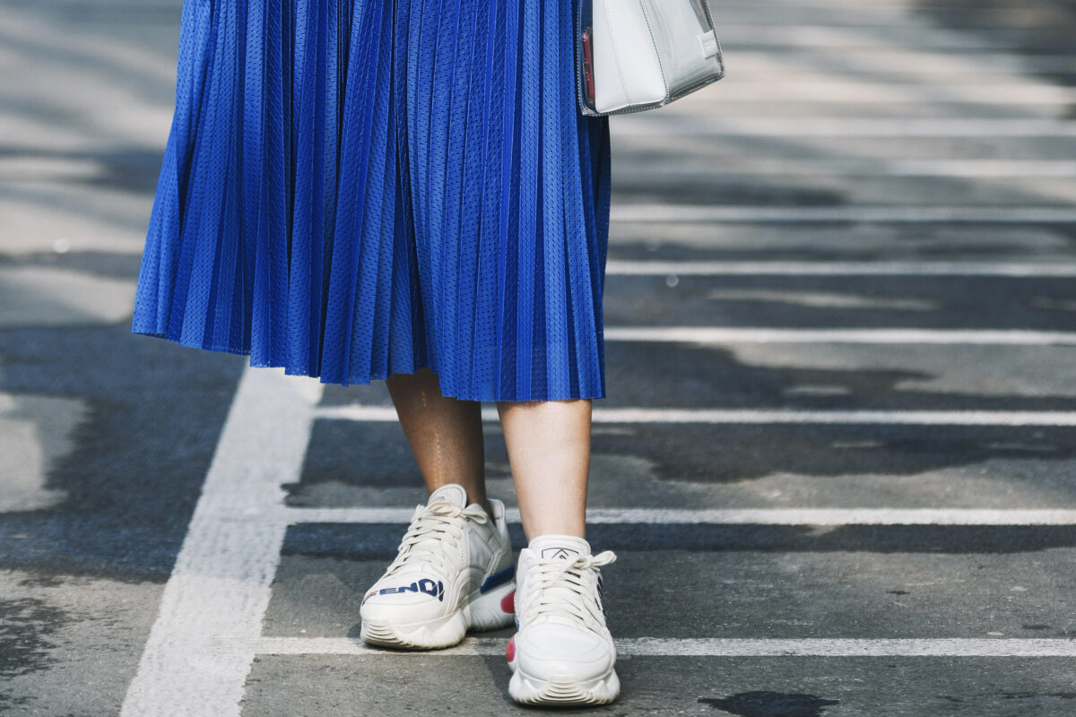 Best investment in women's designer sneakers (trainers) from luxury brands like Balenciaga, Golden Goose, Off White and more for summer 2021