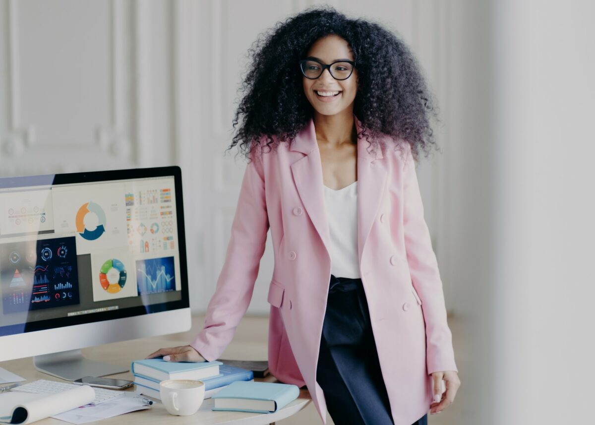 power casual is the new normal look we're supposed to embrace for our office outfits right now