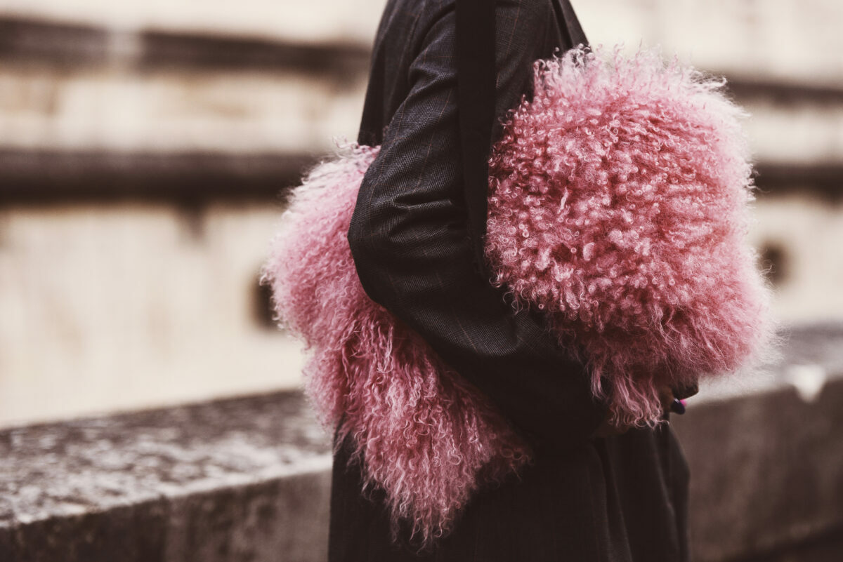 our picks of the best shearling, cashmere and other cuddly fabric designer handbags new for fall winter 2021.