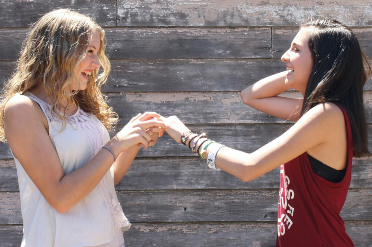 on trend summer camp jewelry, including stackable friendship bracelets, beaded necklaces, earrings and more