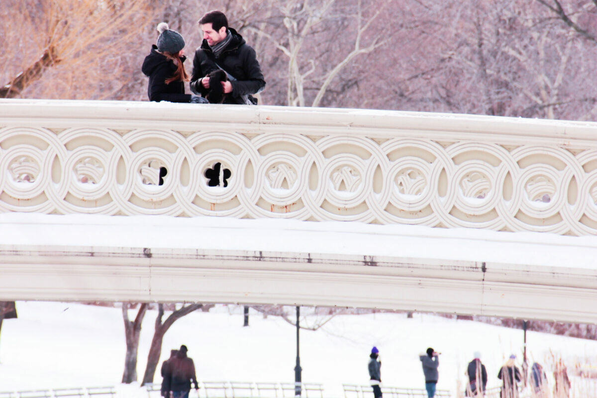 most romantic and charming places for couples to visit in New York City right now