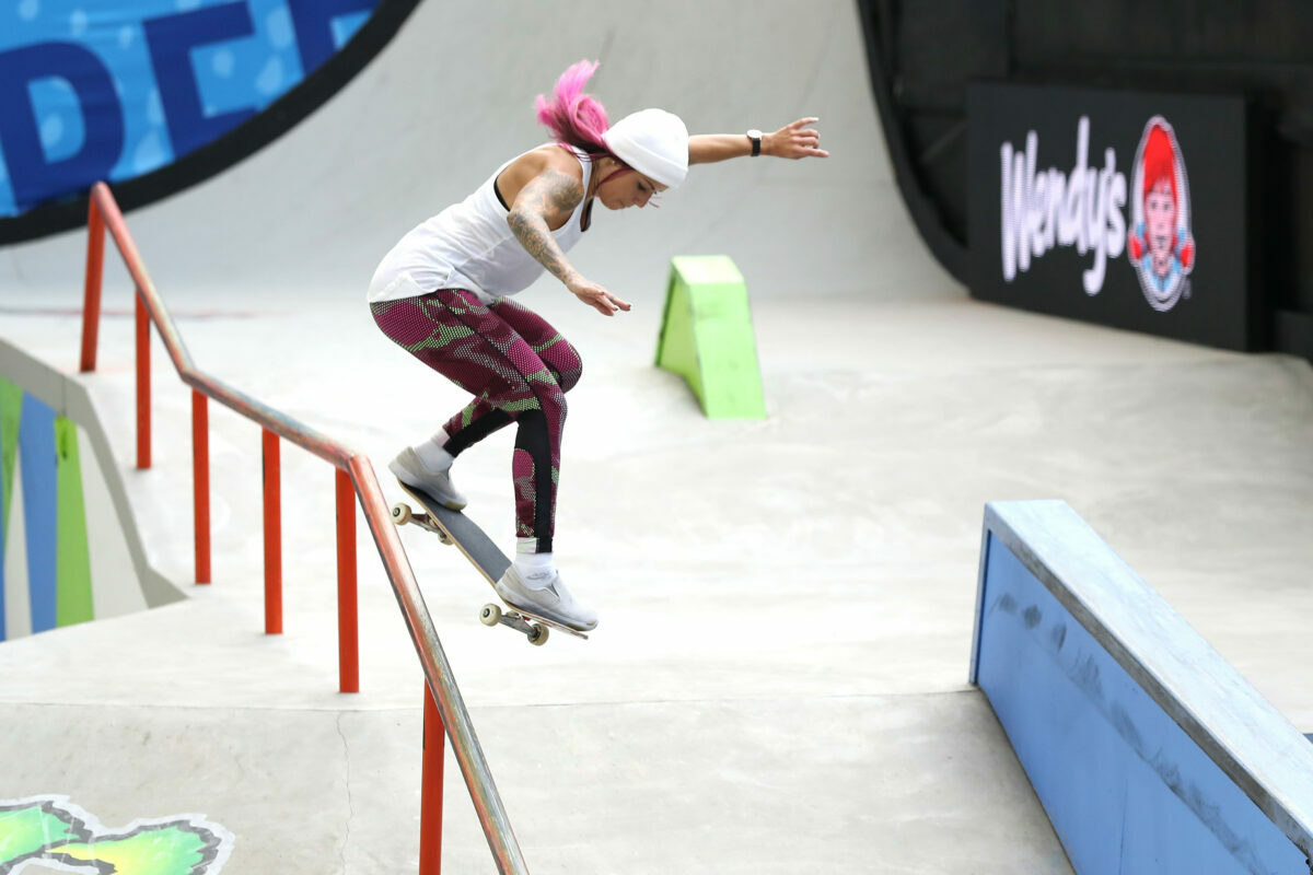 inspiring looks and fashion style tips to steal from the skateboarders at the Tokyo Olympics.