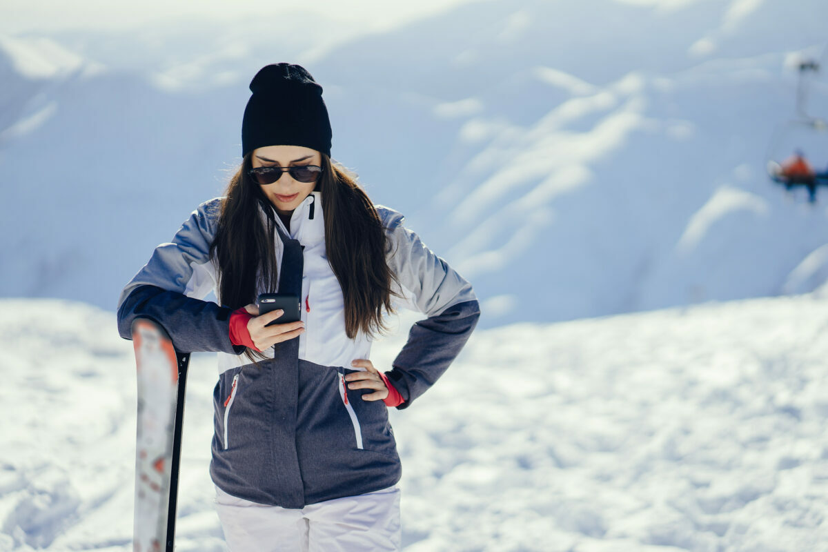 top trends and best new fashion looks for women in performance ski wear for the winter of 2021-22